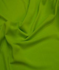 Çimen Yeşili Medine İpek Krep Kumaş