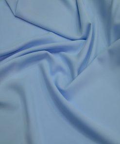 Bebe Mavisi Medine İpek Krep Kumaş