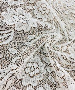 Beyaz Dantel Kumaş