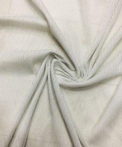 Beyaz Jarse Lame Abiyelik Kumaş