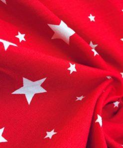 Yıldız Desenli Poplin