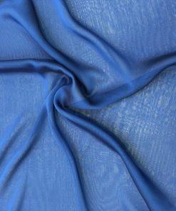 Mavi Janjanlı Şifon