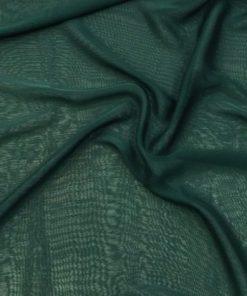 Zümrüt Yeşili Janjanlı Şifon