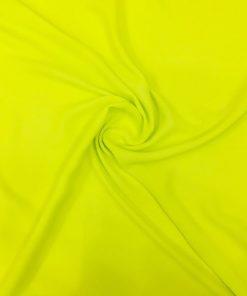 Neon Yeşili Krep Şifon Kumaş