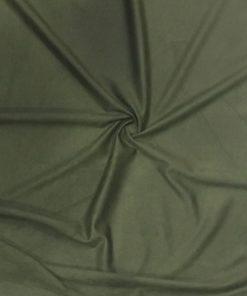 Yeşil Dalgıç Süet Kumaş