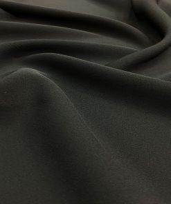 Siyah Double Krep Kumaş