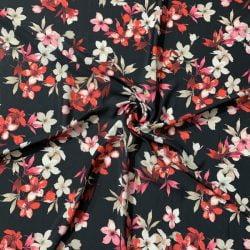 Çiçek Desenli Jorjet Krep
