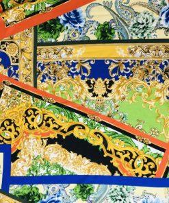 Versace Desen İpek Viskon 2