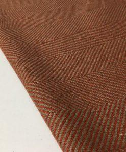 Balıksırtı Desenli Şanel Kumaş Soğan Kabuğu
