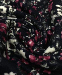 Çıtır Çiçek Desenli Penye S1YSM 2