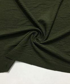 Mevsimlik Fitilli Triko Kumaş Zümrüt Yeşili S1