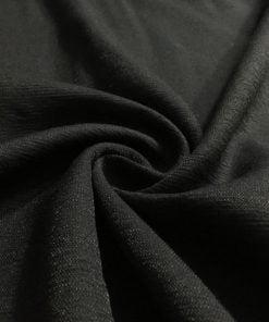 Aerobin Keten Kumaş Siyah S1