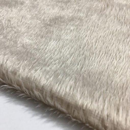 Taş Rengi Peluş Kumaş S1