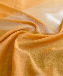 Hardal Sarısı Tülbent Kumaş S1
