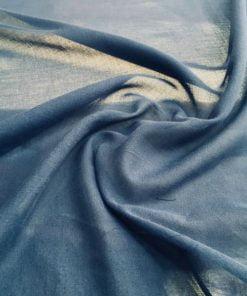 Mavi Tülbent Kumaş S1