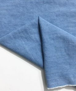 Buz Mavisi Taşlanmış Kot Kumaş S1