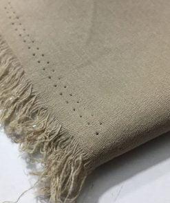 Taşlanmış Koton Kumaş Vizon S1