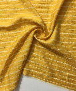Çizgili Aerobin Keten Sarı S1