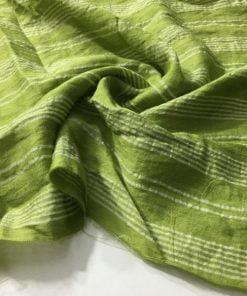 Çizgili Aerobin Keten Yeşil S1