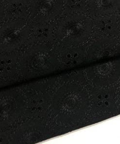 Etnik Desenli Fisto Kumaş Siyah S1