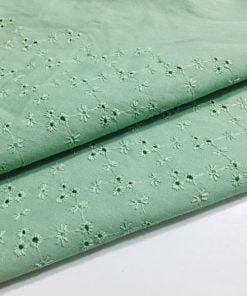 Minik Desenli Fisto Kumaş Yeşil S1