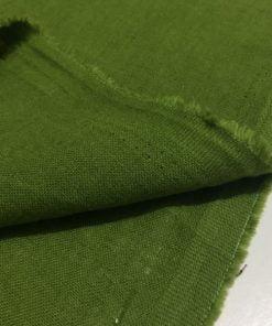 Yıkanmış Ham Keten Yeşil S1