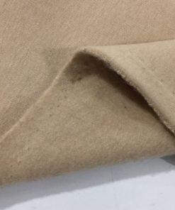 Bej Şardonlu Üç İplik Penye Kumaş S1