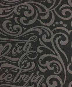 Desenli Üç İplik Penye Kumaş S1