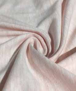 Lüx Tişört Penye Kumaşı Soft Pembe S1