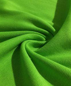 Lüx Yeşil Çelik Penye Kumaş S1