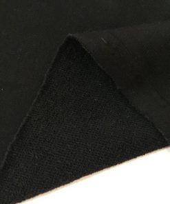 Üç İplik Penye Kumaş Siyah S1
