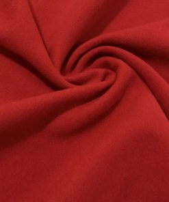 Kırmızı Mantoluk Kaşe Kumaş S1